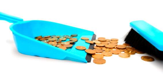 Estalvia diners netejar la teva casa